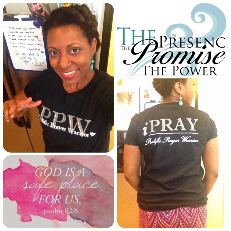 She's a Prolific Prayer Warrior!  Are you?!